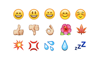 Sitemap: Facebook Symbols (cool text signs, emoticons, text pictures